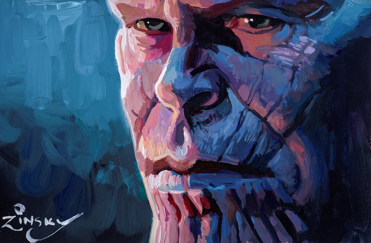 Thanos by zinsky -  sized 15x10 inches. Available from Whitewall Galleries